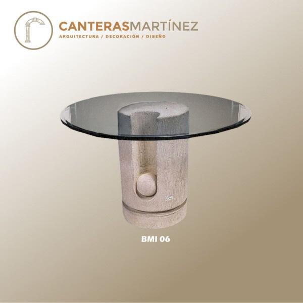 Canteras martinez for Bases para mesas de centro
